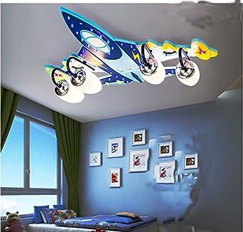 Vier Flugzeuge Kinderzimmer Deckenlampe Schlafzimmerlampe kreative ...