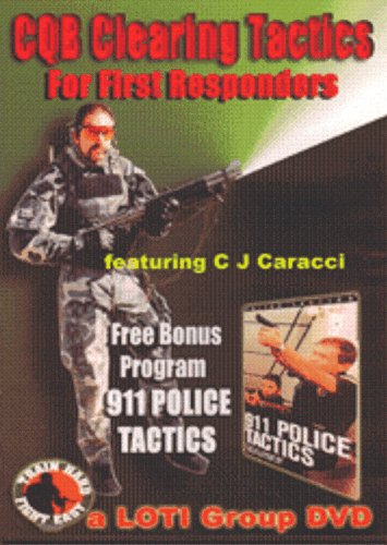 (CQB Clearing Tactics - For First Responders on DVD)