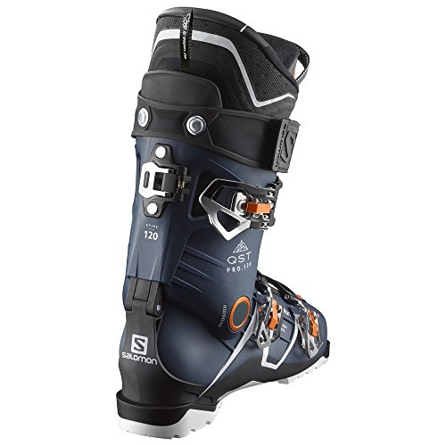 Salomon QST Pro 120 Ski Boots – 26.5 Petrol Blue-Black-Orange