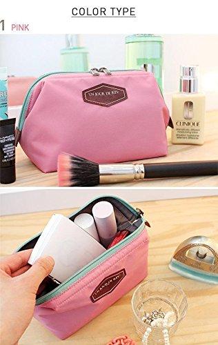 Rose Sacs de Sac Maquillage toilette à Main Cosmétique Voyage Casual Femme Sac de Pochette ZEARO XwB4qg6x