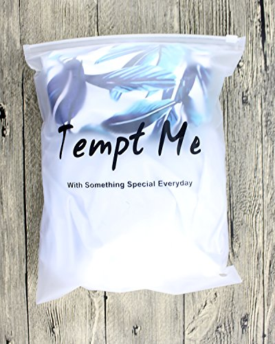 Tempt Me Women Two Piece Off Shoulder Ruffled Flounce Crop Bikini Top with Print Cut Out Bottoms White M by Tempt Me (Image #4)