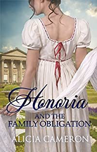Honoria And The Family Obligation by Alicia Cameron ebook deal