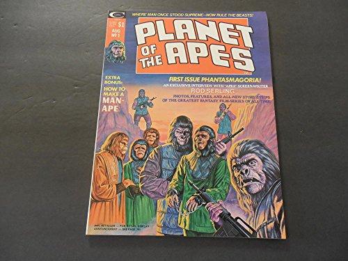 Planet Of The Apes #1 Aug 1974 Bronze Age Marvel Comics Magazine