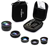 SHUTTERMOON UPGRADED Phone Camera Lens Kit for