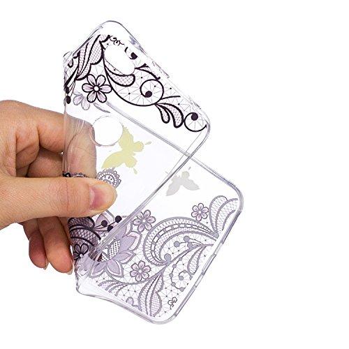 Anlike Coque Protection Motif Redmi Note Chats 5A Etui Housse pour et Coque papillon de Redmi Xiaomi Coque Note Dentelle peint ballons 5A Note Xiaomi Redmi 5A Silicone ZtqCIxO