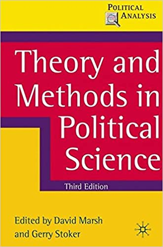 amazon theory and methods in political science political analysis