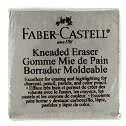 Extra Large impastato Eraser Grigio