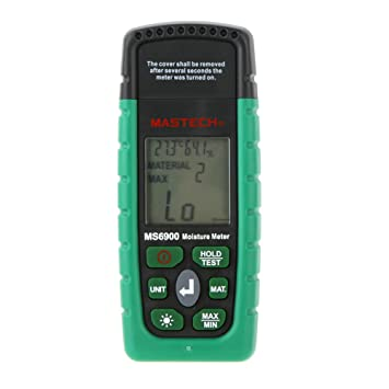 Mastech Ms6900 Professional Mini Digital Feuchtigkeits Amazonde