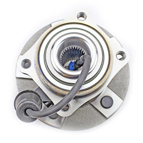 CRS NT512229 New Wheel Bearing Hub Assembly, Rear Left (Driver)/ Right (Passenger), for 2005-2006 Chevy Equinox, 2006 Pontiac Torrent, 2002-2007 Saturn Vue, ()