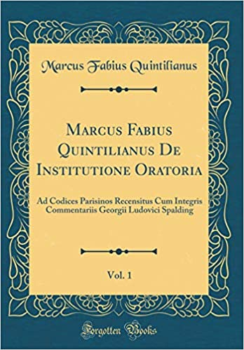 INSTITUTIONE ORATORIA PDF