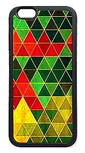 Hard Plastic iPhone 6 Plus Case, Fate Inn-Triangle Block Of Light Color-iPhone 6 Plus case