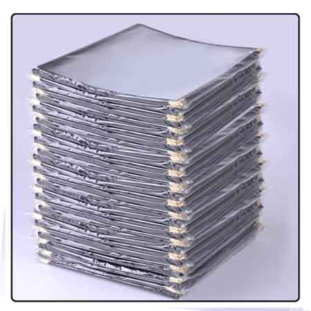 Elegant Clear Restaurant Menu Cover Folders 6 Veiw 8-1/2''x11'' 30pc Set by KOVAL INC.