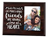 Elegant Signs Side by Side or Miles Apart - 4x6 Going Away Picture