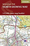 North Downs Way Map: 1:25,000 Route Map Booklet (Southern England)