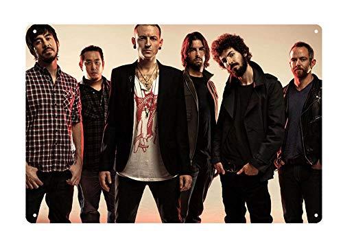 WholesaleSarong Linkin Park American Rock Band Metal tin Sign tin Garage Artwork Store