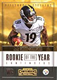 #2: 2017 Panini Contenders Rookie of the Year Contenders #21 JuJu Smith-Schuster Pittsburgh Steelers Football Card