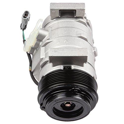 SCITOO Compatible with Auto Repair Compressor Assembly CO 28000C, AC Compressor and A/C Clutch Kit fit GMC Savana 1500 4.3L 5.3L 2500 6.0L 6.6L 3500 4.8L6.0L 2008-2009