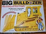 Big Bulldozer Giant Shaped Floor Puzzle 2'X3'