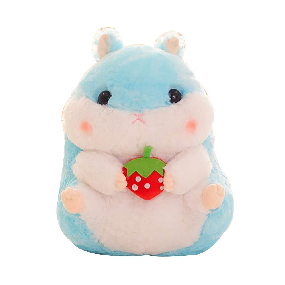 xinYxzR Lovely Hamster Plush Toy Simulation Animal Stuffed Doll Girls Gift 28/38/55cm White 38cm