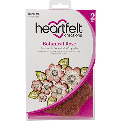 Botanical Roses (Heartfelt Creations Botanical Rose Cling Rubber Stamp)