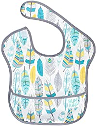 SuperBib, Baby Bib, Waterproof, Washable, Stain and Odor Resistant, 6-24 Months – Feathers