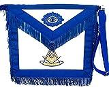 D3025F Apron Masonic Past Master + Fringe