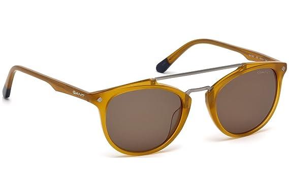 a678c7af9d83c6 Lunettes de soleil GANT GA7087 C49 42E (shiny orange   brown ...