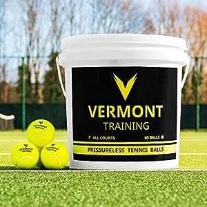 Vermont Pelotas de Tenis para Entrenamientos | Pelotas Sin ...