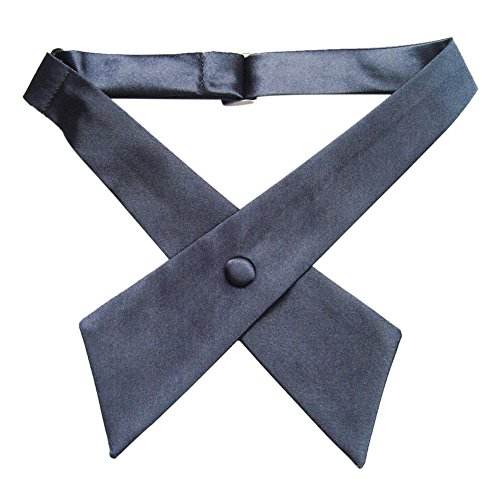 TopTie Criss-Cross Tie, Girls' School Uniform Cross Tie - Bow Cross