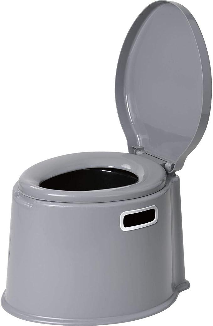 Eimertoilette Mobile Nottoilette Campingtoilette Toiletteneimer Klo Reise-Wc