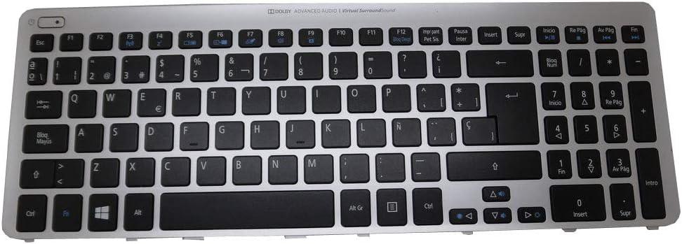 GAOCHENG Laptop Backlit Keyboard for ACER for Aspire M5-581 M3-581 V5-571 V5-531 NSK-R3KBW 0S 9Z.N8QBW.K0S NK.I1717.07R NO Frame