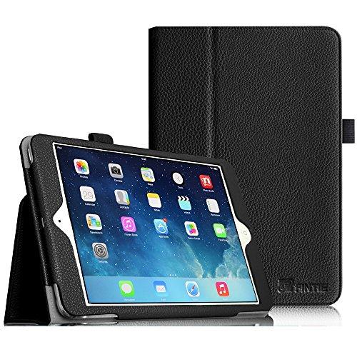 Fintie Apple iPad mini 1 / 2 / 3 Hülle - Slim Fit Foilo Kunstleder Schutzhülle Tasche Etui Case Smart Cover mit Auto Schlaf / Wach, Standfunktion für iPad mini 3 / 2 / 1 , Schwarz