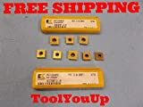 8 pcs NEW KENNAMETAL SPGT 120408MDT KC720 CARBIDE TOP NOTCH INSERTS TOOLMAKER
