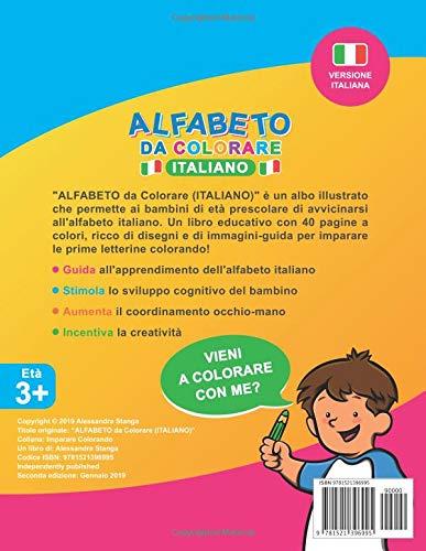 Alfabeto Da Colorare Amazon It Alessandra Stanga Libri