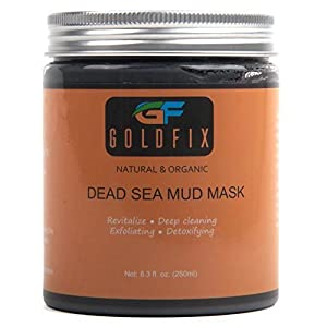 Dead Sea Mud Mask For Face, Acne, Oily Skin & Blackheads - Best Clay Facial Mask for Pore Minimizer, Reducer & Pores Cleanser Treatment - 250ml. Wow factor