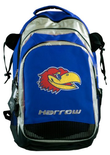 Broad Bay Kansas Harrow Field Hockey Backpack KU Jayhawks Hockey Gear Bag Blue by Broad Bay