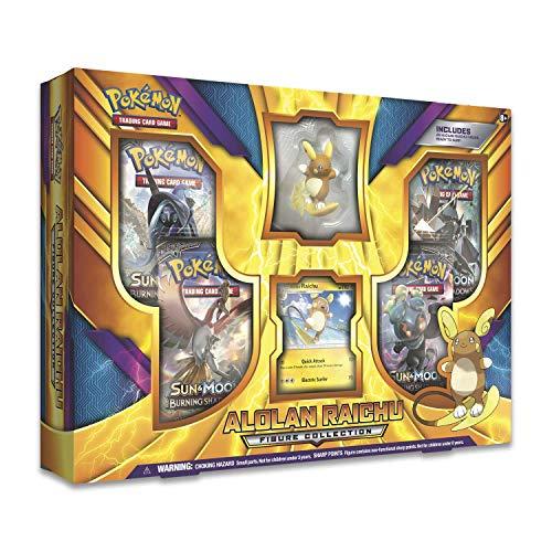 - Pokemon Alolan Raichu Figure Collection Box
