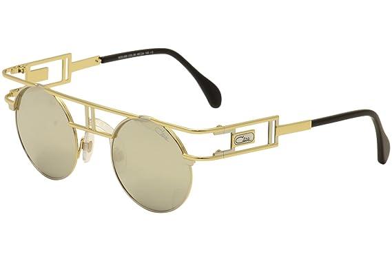 Amazon.com: Cazal 958 Gafas de sol 096 Oro/Oro Espejo 46 mm ...