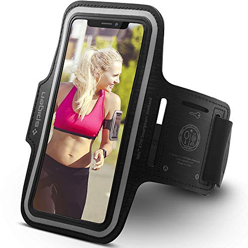 Spigen Running Phone Armband for iPhone XR/XR Max/XS: Amazon.co.uk