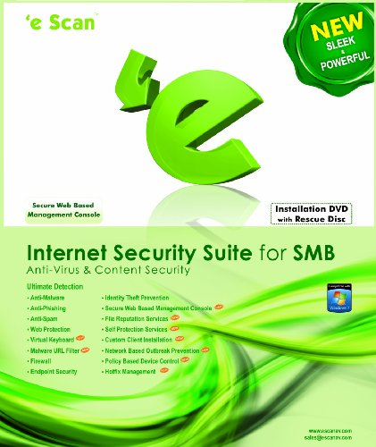eScan Internet Security Suite ( ISS) for SMB 25 users 1 year [Download] by Microworld technologies Inc