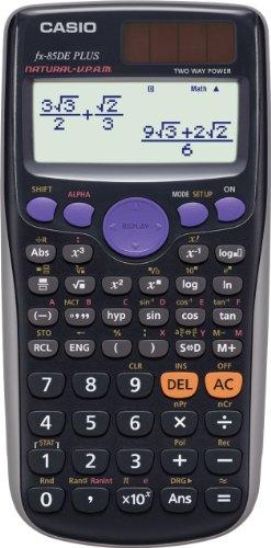 Casio FX-85DE Plus technisch-wissenschaftlicher Rechner mit natürlichem Display
