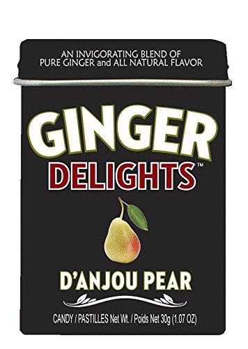 Ginger Pear - Big Sky Ginger Delights D'Anjou Pear Mints - Pack of 12