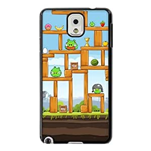 The best gift for Halloween and Christmas Samsung Galaxy Note 3 Cell Phone Case Black Angry Birds Piggies Construction RPR1718088