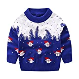 Product review for Mud Kingdom Little Boys Blue Christmas Sweaters Snowman