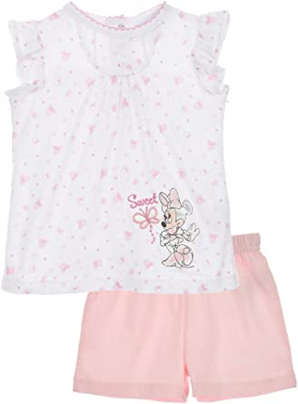Ensemble T-Shirt et Short Bébé Fille Minnie Mouse