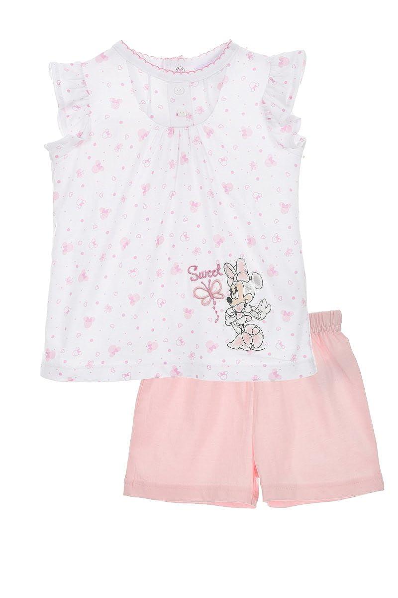 M/ädchen T-Shirts Und Shorts Minnie Mouse Baby