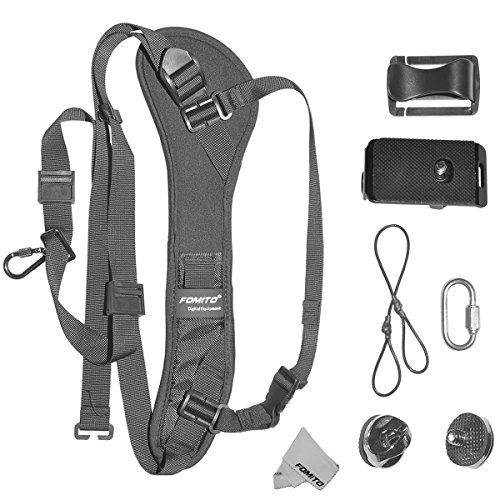 Fomito Q-1 Photo Rapid Fire Camera Neck Strap w/ Quick Relea