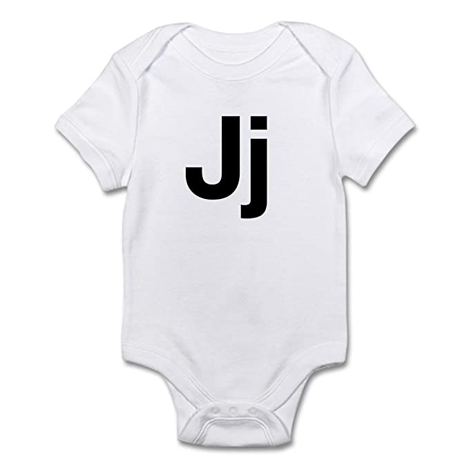 CafePress - Helvetica Jj - Cute Infant Bodysuit Baby Romper