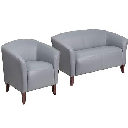 Strange Amazon Com Flash Furniture Hercules Imperial Series Gray Pdpeps Interior Chair Design Pdpepsorg