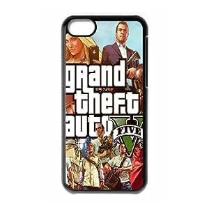 iPhone 5C GTA pattern design Phone Case H11G43558